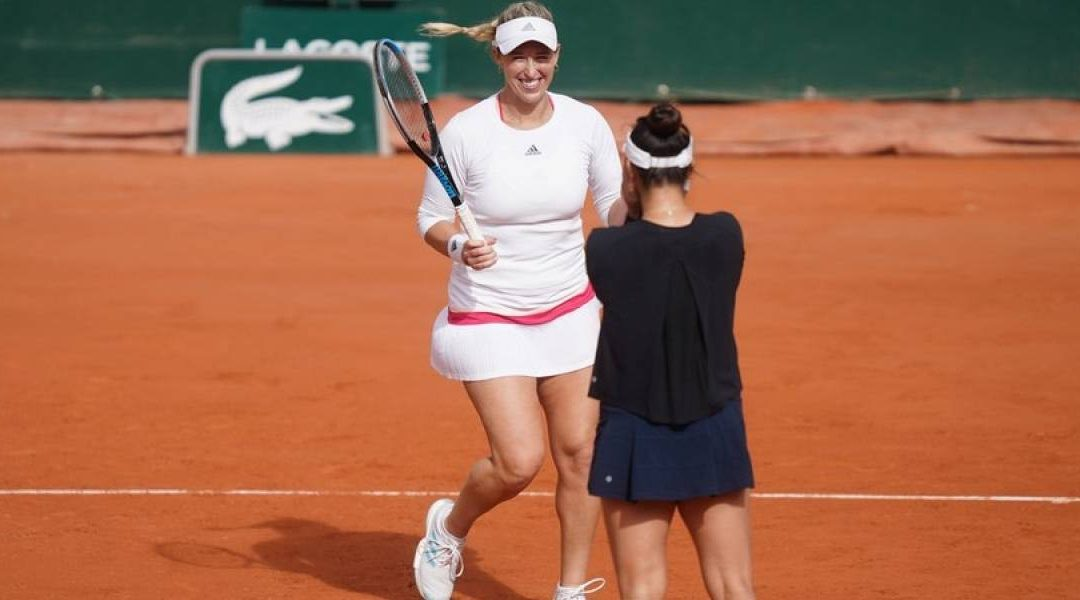 Alexa Guarachi perdió la final de dobles en Roland Garros
