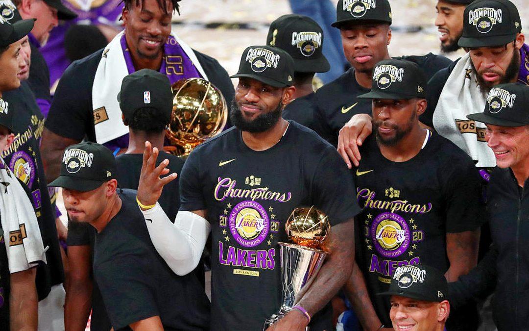 Los Angeles Lakers ganan el sexto juego de las finales y se proclaman campeones de la NBA