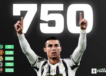 CR7 sigue haciendo historia: anota el gol 750 de su carrera