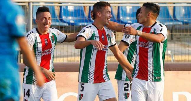 Palestino goleó a Cerro Largo y se clasificó con autoridad a la próxima ronda de la Copa Libertadores