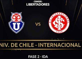 Universidad de Chile vs. Inter: Horario, formaciones y dónde ver el duelo de Copa Libertadores