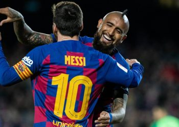 ¡Lo quiere! Señalan que Lionel Messi pidió la continuidad de Arturo Vidal