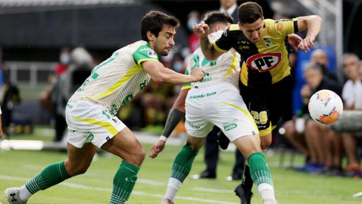 Coquimbo Unido consigue valioso empate ante Defensa y Justicia, todo se define en la vuelta