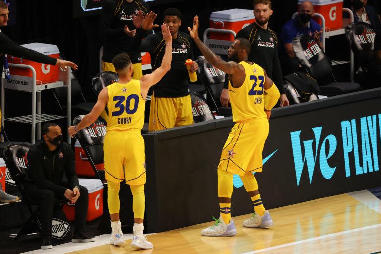 Team LeBron derrotó al Team Durant en el All Star Game de la NBA
