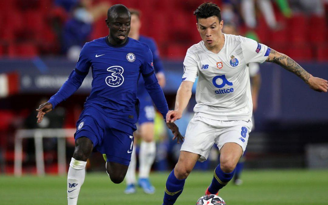 Chelsea pasa a semifinales pese a derrota ante el Porto