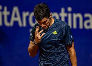 Cristian Garin cede lugares en el ranking mundial de la ATP