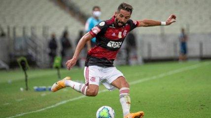 Isla suma su segundo titulo con el Flamengo