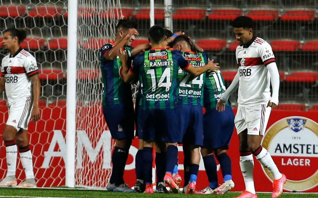 Unión La Calera tuvo que conformarse con el empate ante Flamengo