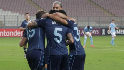 Eugenio Mena se luce en la victoria de Racing sobre Sporting Cristal en la Libertadores