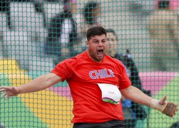 Gabriel Kehr se quedó a nada de la clasificación a la final del lanzamiento del martillo