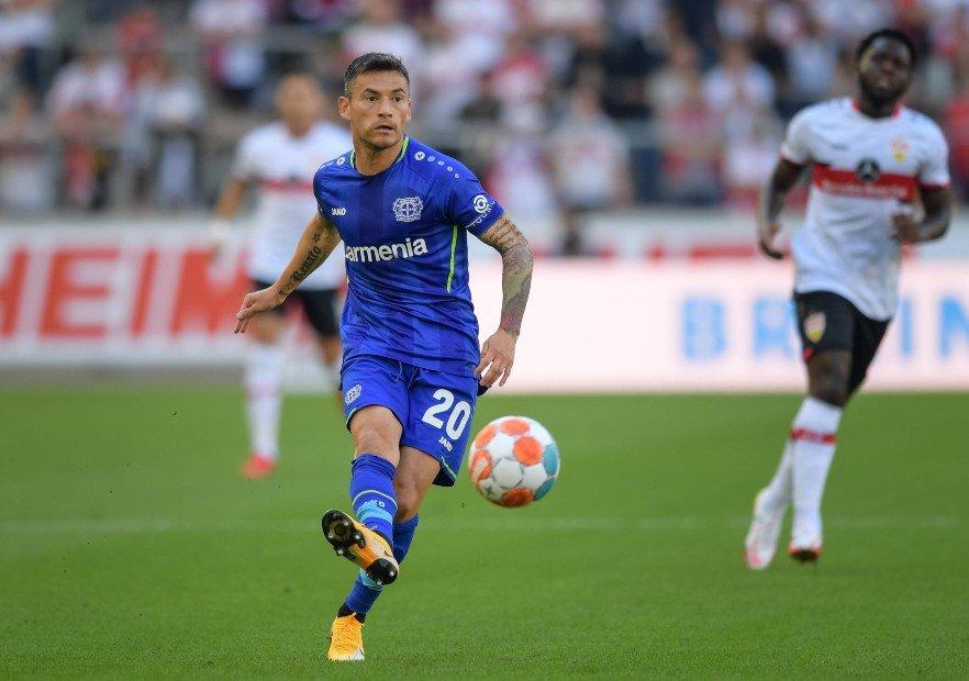 Aránguiz fue titular en la victoria del Bayer Leverkausen ante Stuttgart