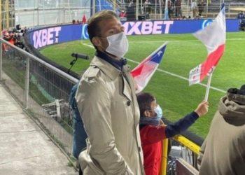 Christian Santos asistió a San Carlos de Apoquindo en apoyo a Venezuela